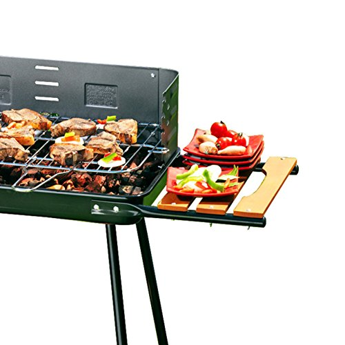 ROBAG Charcoal Grill BBQ Barbecue Family Outdoor Garden Multi Portable Folding Function