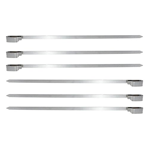 onlyfire Stainless Steel Rotating Skewer System Fits for Any Rotisserie Grill