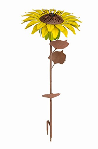Desert Steel Sunflower – Garden Torch – 32 Inches Tall