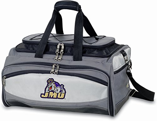 PICNIC TIME NCAA James Madison Dukes Buccaneer Tailgating Cooler with Grill