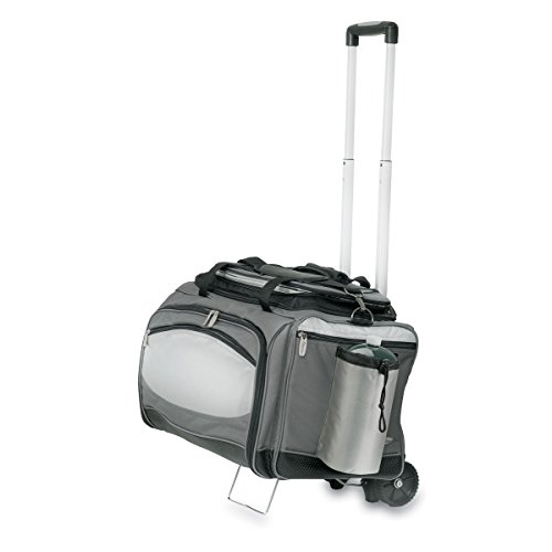 ONIVA – a Picnic Time Brand Vulcan All-In-One Tailgaiting Cooler/BBQ Set with Trolley