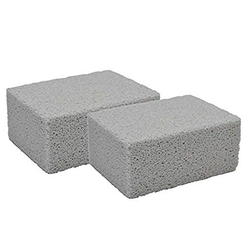 Elevate Essentials Pumice Stone Grill Block for Cleaning Grills or Griddles (2 Pack)
