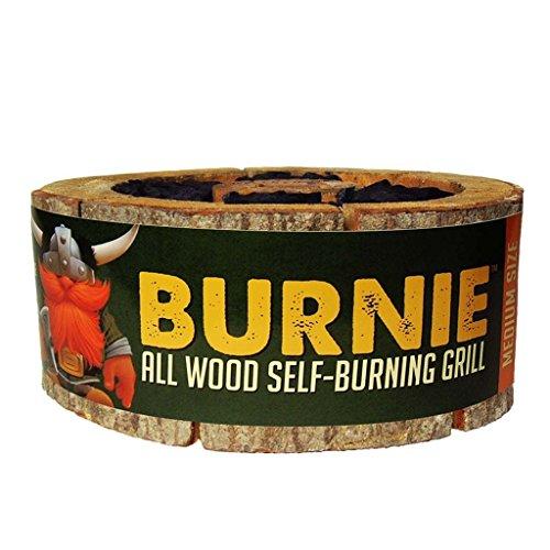 Burnie Grill: All Wood Self-Burning Grill – Medium