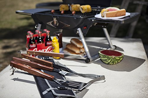 ONIVA – a Picnic Time Brand 3-Piece BBQ Tool Set with Tote