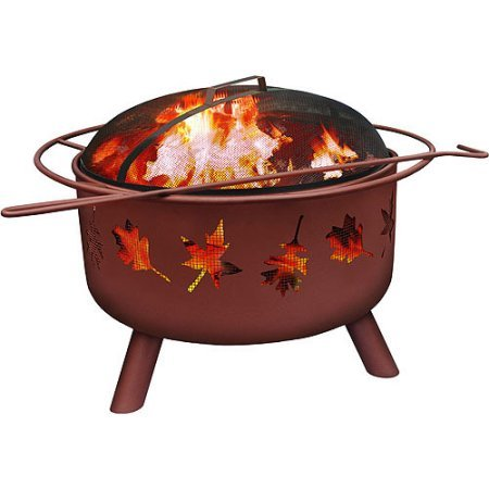 Landmann Big Sky Fire Pit – Tree Leaves, Georgia Clay
