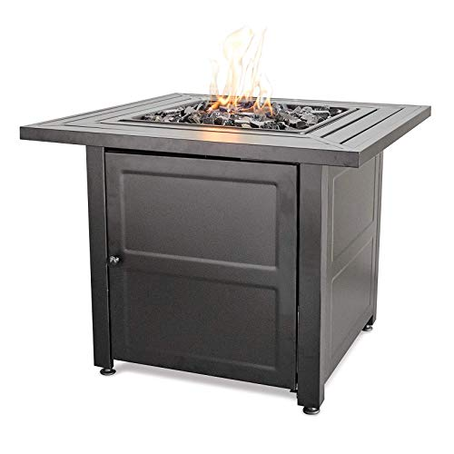 Endless Summer LP Gas Outdoor Fire Bowl with Steel Mantel