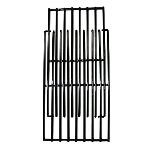 Brinkmann Set of Three adjustable porcelain coated cooking grids (total width 18 inches) for Uniflame, DynaGlo, Better Home and Garden and Backyard Grill Models