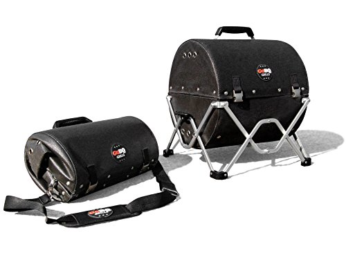 GoBQ Portable Charcoal Grill (Black)