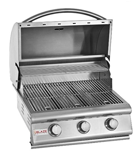 Blaze – Built In 25 Inch 3 Burner Grill! Your Choice Of Propane or Natural Gas – BLZ-3-LP & BLZ-3-NG (25″ Propane)