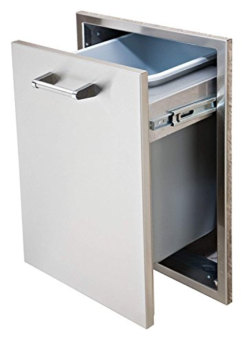 Delta Heat Tall Trash Drawer (DHTD18T-B), 18-Inch