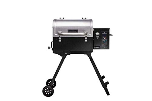 Camp Chef Pursuit 20 Portable Pellet Grill Smoker, Stainless Steel (PPG20) – Smart Smoke – Slide and Grill Technology