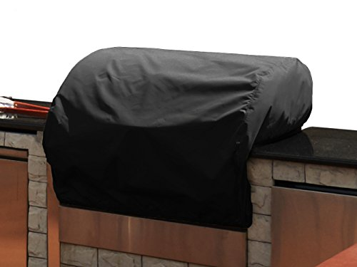 CoverMates – Built–In Grill Cover – 30W x 26D x 14H – Classic Collection – 2 YR Warranty – Year Around Protection – Black