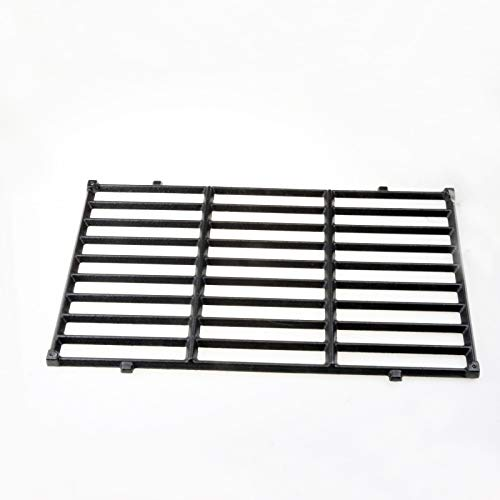Uniflasy Cast Iron Grill Cooking Grid Grates Replacement Parts Accessories for Weber Spirit 200 Series Gas Grills, Weber 7637