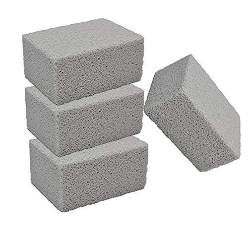 LQQDD Grill Cleaning Brick, Grilling Stone Cleaner,Descaling BBQ Block Construction,Removes Encrusted Greases,Stains, Residues, Dirt,Reusable Pumice Stone