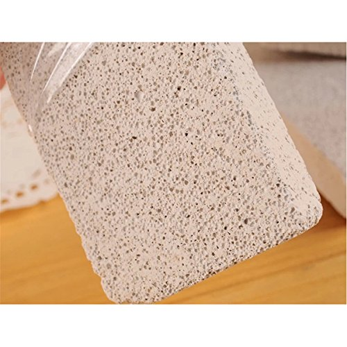 OUNONA 3pcs Pumice Stone Foot Care Scrubber Stone Grill Cleaning Block