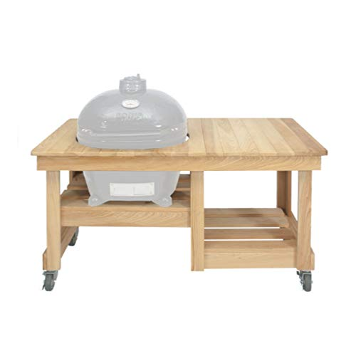 Primo Ceramic Grills Oval LG 300 Cypress Counter Top Table