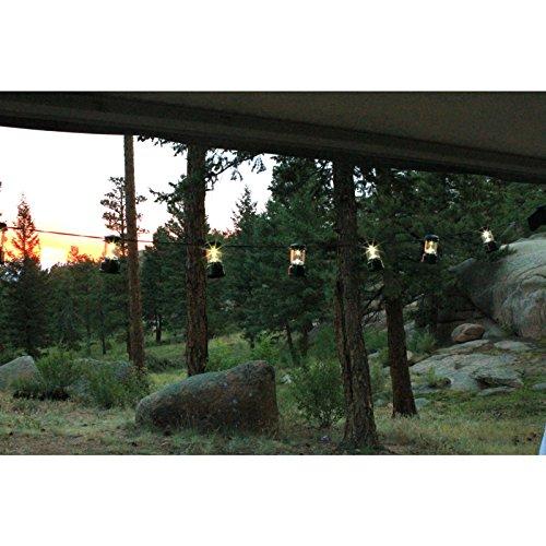 Coleman LED String Lights, 10 Lanterns
