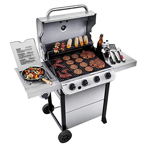 Char-Broil 463377319 Performance Stainless Steel 4-Burner Cart Style Gas Grill
