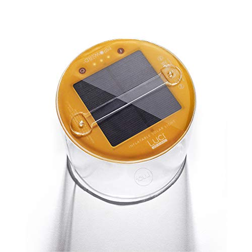 MPOWERD Luci – The Original Inflatable Solar Light, Clear Finish (New Features)