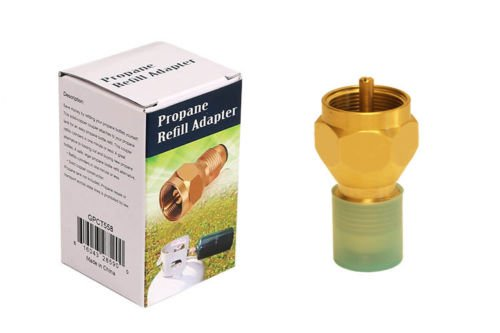 Rainbow Store Propane Refill Adapter Lp Gas 1 Lb Cylinder Tank Coupler Heater Bottles Coleman