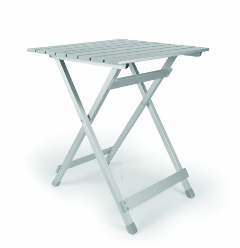 Camco 51891 Aluminum Fold-Away Side Table – Large