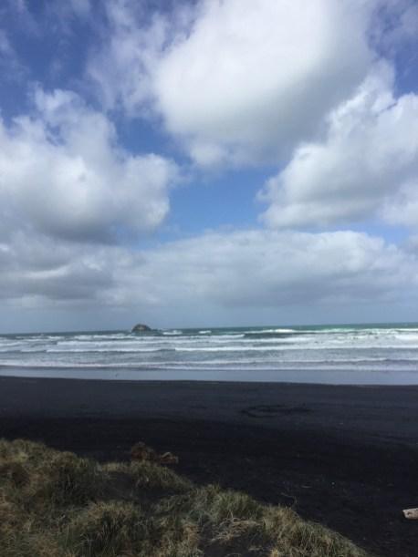 ▲Muriwai beach