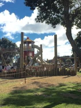 ▲Takapuna Beach Reserve Playground