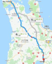 Taupo 地理位置