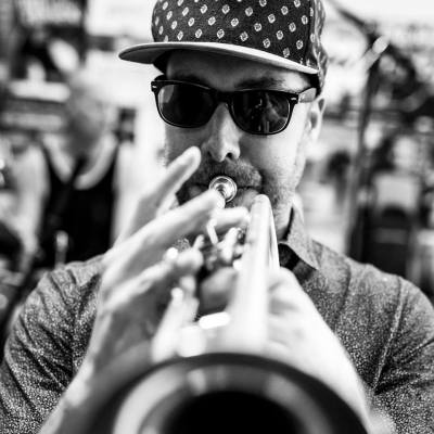 Chris Weber, Trumpet, Adelaide South Australia, Photo by Chris Oaten