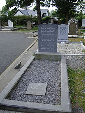 W B Yeats Grave