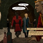 Episode 1 Demonfell Demonrise Epic Fantasy Webcomic LGBTQ