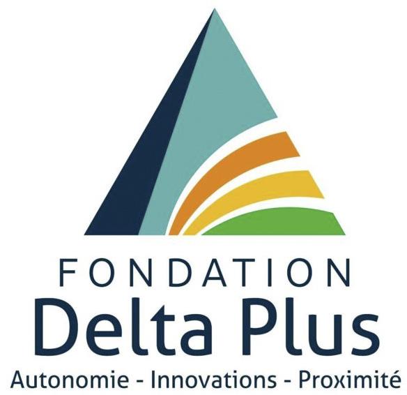 Logo de la fondation Delta Plus 87