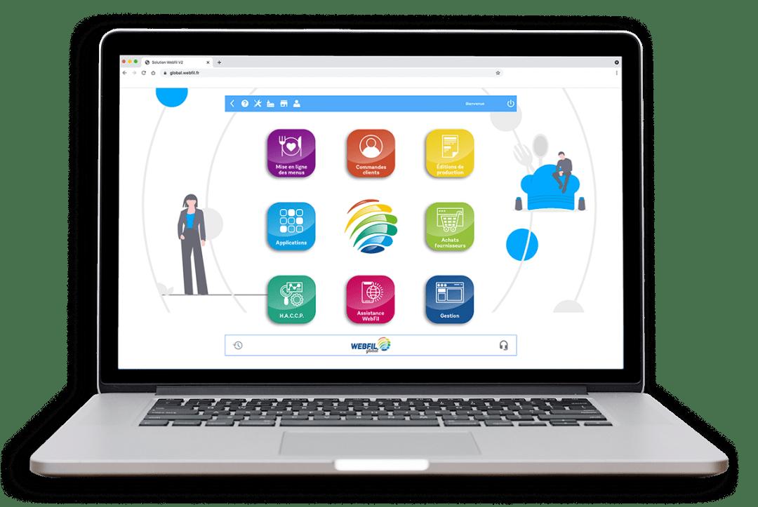 WebFil global, gestion de la restauration en secteur médico-social.