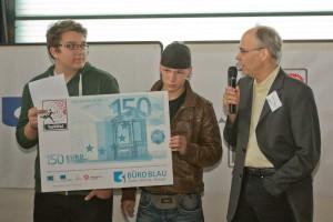 Der 1. Platz geht an die Lenné-Oberschule in Hoppegarten.