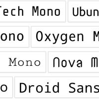 モノスペースのGoogleフォントをセンス良く使いたい〜ゴシック体に合わせるwebフォント