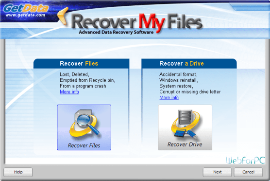 Recover My Files Free Download