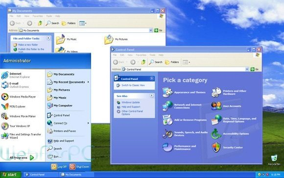 Windows XP SP3 Professional free Download 32 & 64 Bit ISO ...