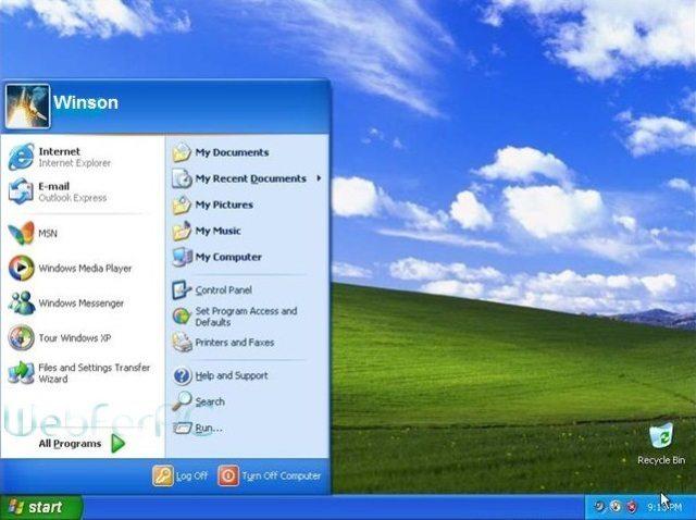 Windows XP SP3 ISO Download