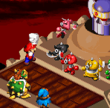 Play Super Mario RPG Legend Of The Seven Stars On SNES