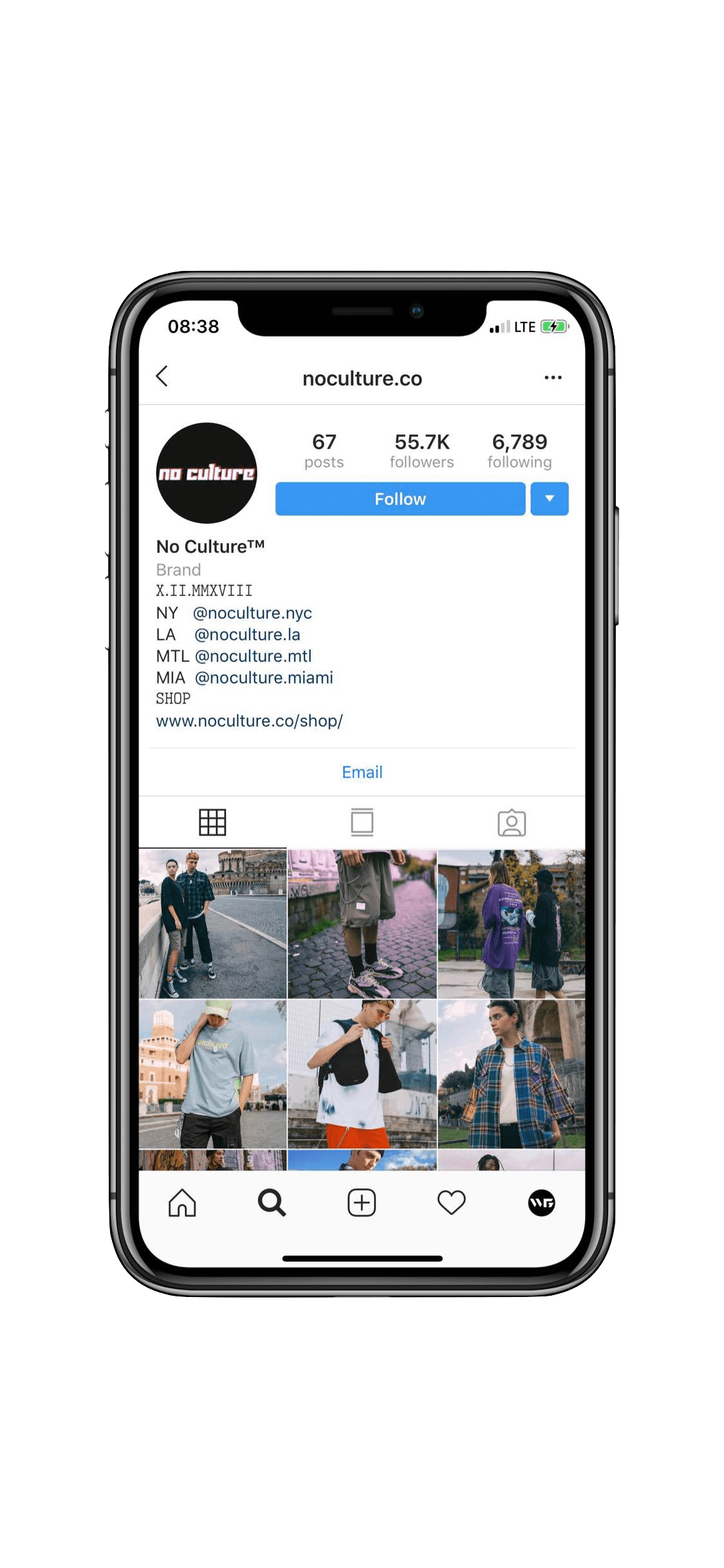Instagram Marketing in Montreal for a Popular Streetwear Brand