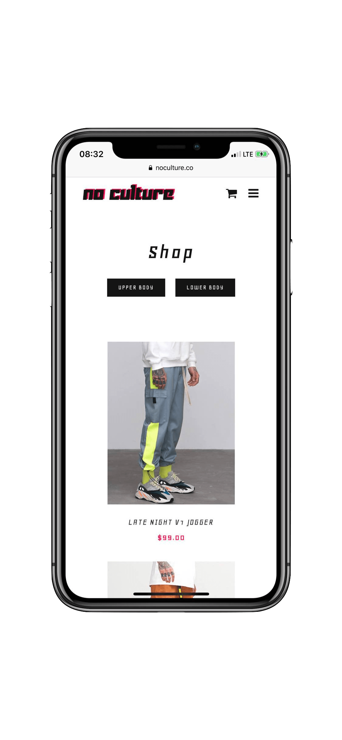 Web Development in Montreal for streetwear online shop