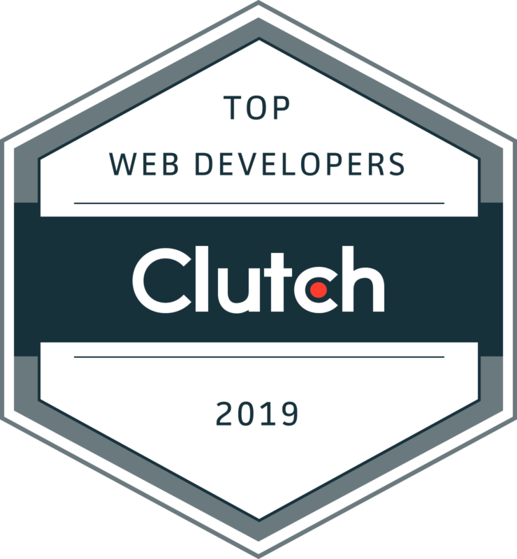 Clutch Web Developers Award