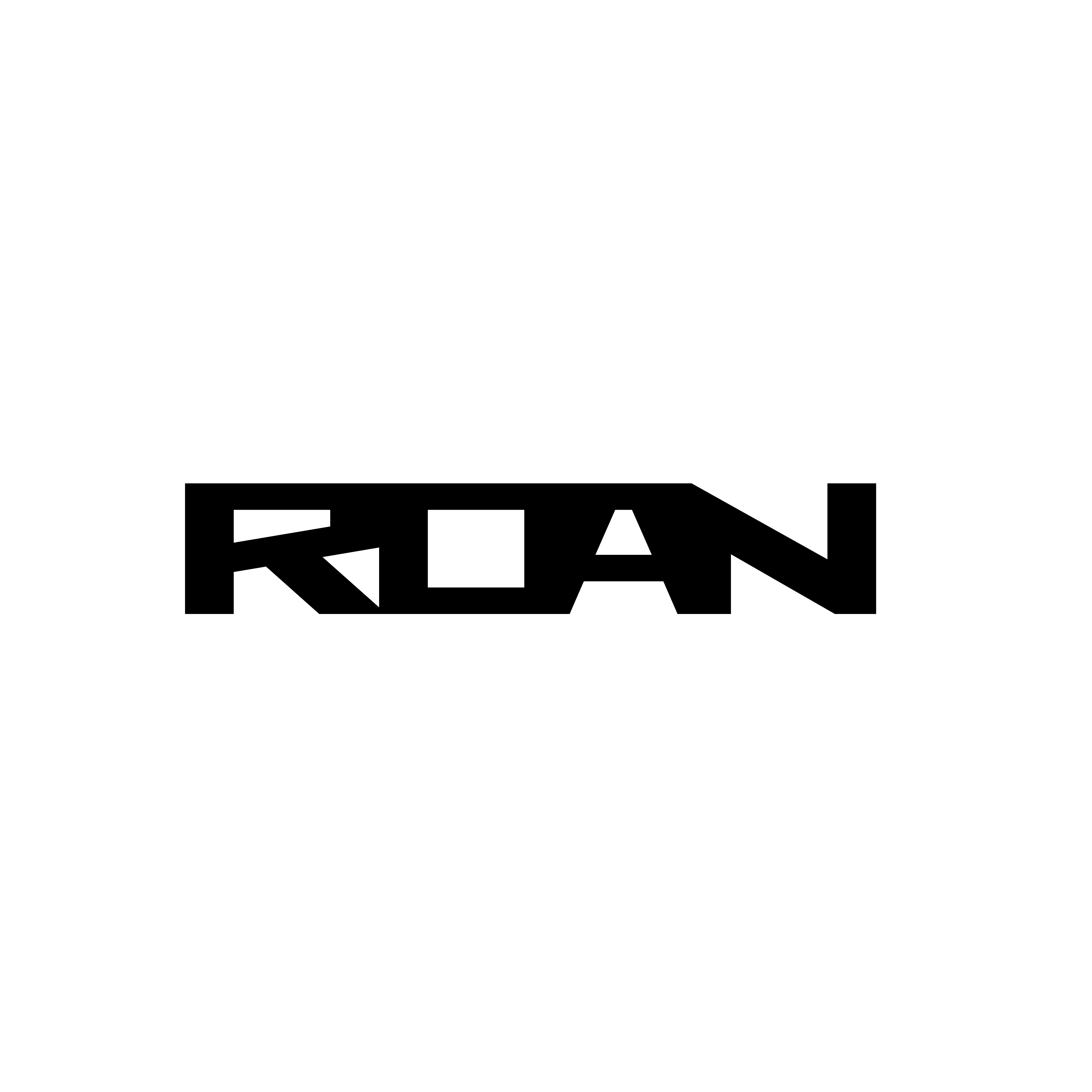 Logo design in Montreal for Roan Black Logo