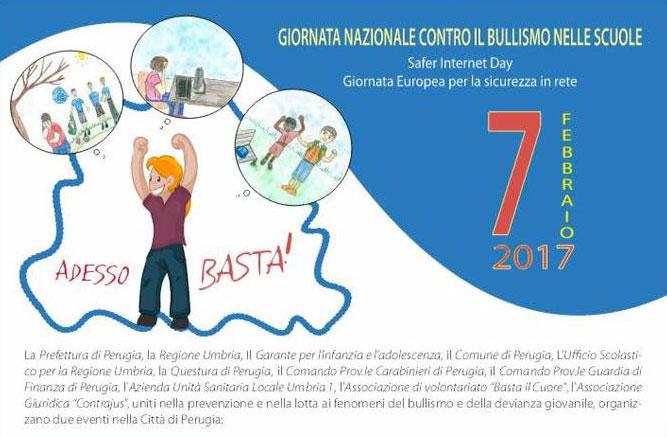Giornata nazionale contro il bullismo nella scuola