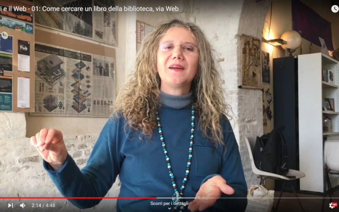 Foto di Sandra Fuccelli (San Matteo degli Armeni) per l'intervista di Web Genitori del ciclo I libri e il Web