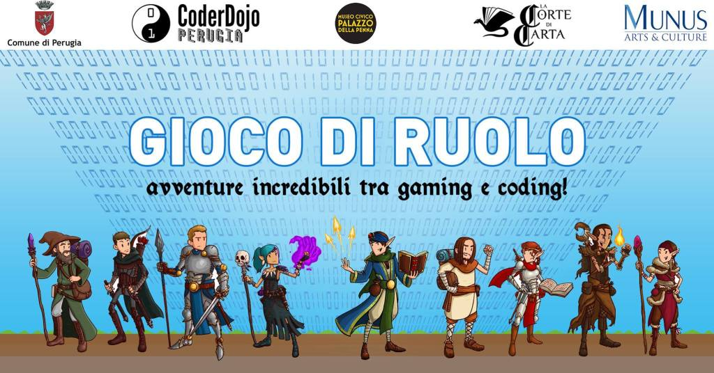 Comunicato Stampa CoderDojo Perugia: Una fantastica avventura per giovani programmatori  a San Bevignate