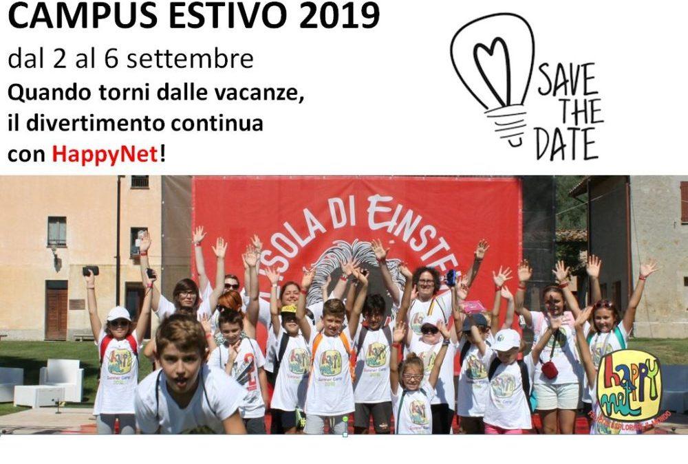 HappyNet 2019: dal 2 al 6 settembre un nuovo strabiliante Innovation Summer Camp #savethedate