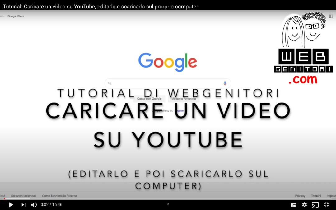 Come editare un video con gli strumenti di YouTube