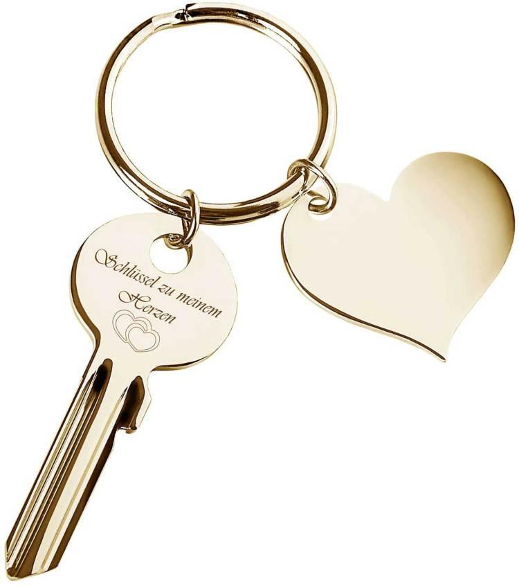 Liebesbeweis Der Schlüssel zu meinem Herzen Schlüsselanhänger