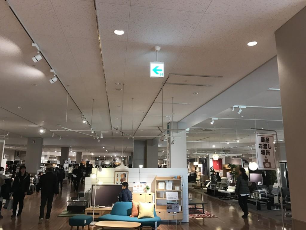 ニトリ環七梅島店